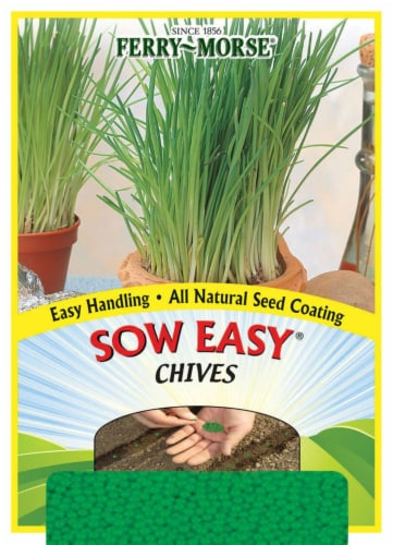 Ferry-Morse Sow Easy Chives Seeds Perspective: front
