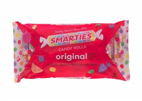 Smarties Original Candy Rolls Value Bag Perspective: front