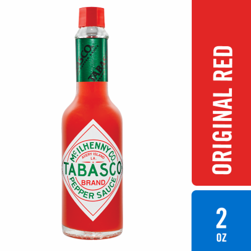 Tabasco Original Red Pepper Sauce Perspective: front