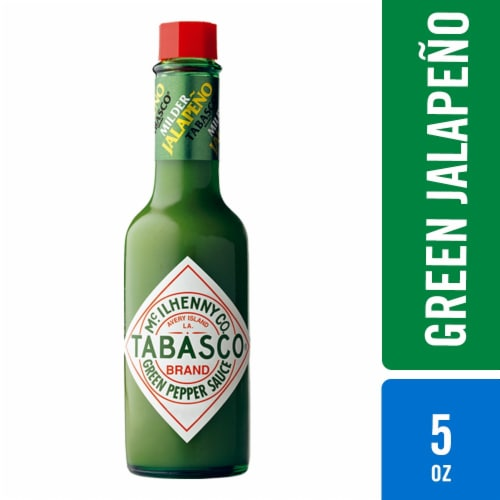 Tabasco Green Pepper Sauce Perspective: front