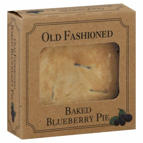 Table Talk Old Fashioned Baked Blueberry Pie Perspective: front