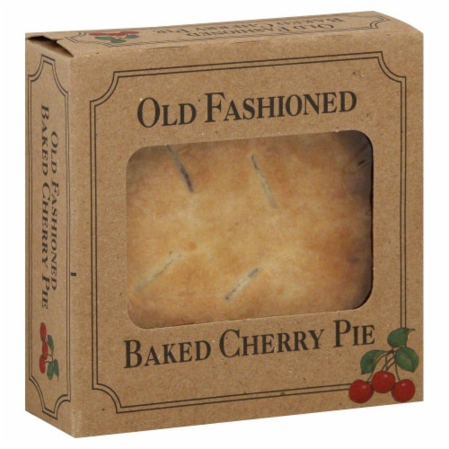 Table Talk Old Fashioned Baked Cherry Pie Perspective: front
