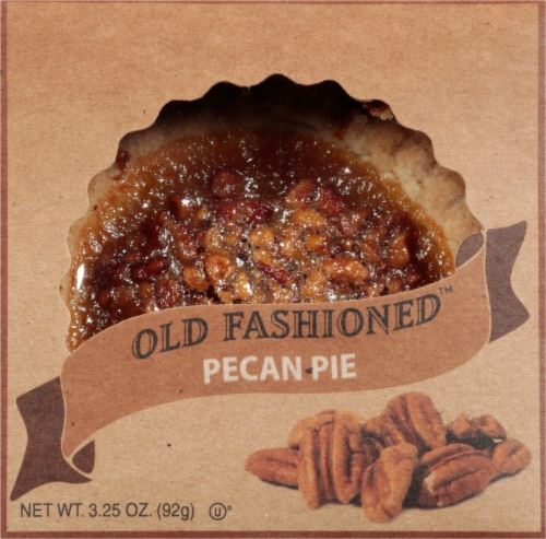 Table Talk Old Fashioned Baked Pecan Pie Perspective: front