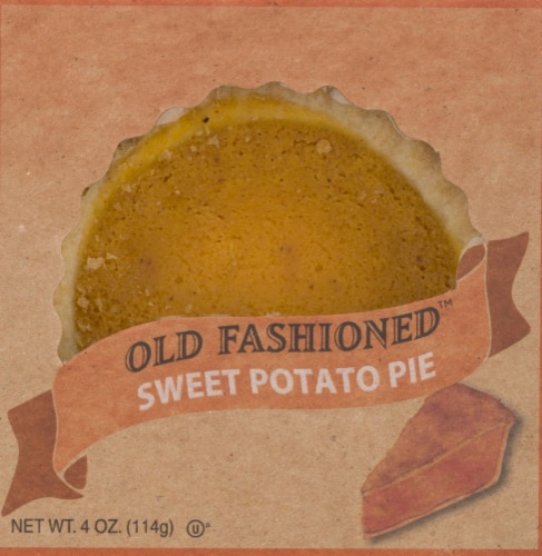 Table Talk Old Fashioned Baked Sweet Potato Pie Perspective: front