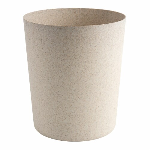 Allure Ethan Waste Can - Beige Perspective: front