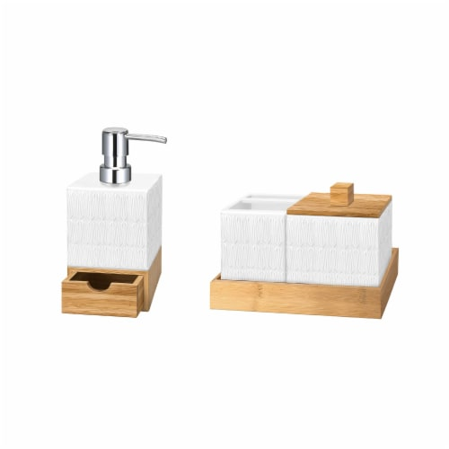 Allure Kismet Soap Pump with Tray Perspective: front