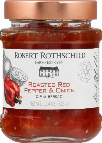 Robert Rothschild Farm Roasted Red Pepper & Onion Dip & Spread Perspective: front