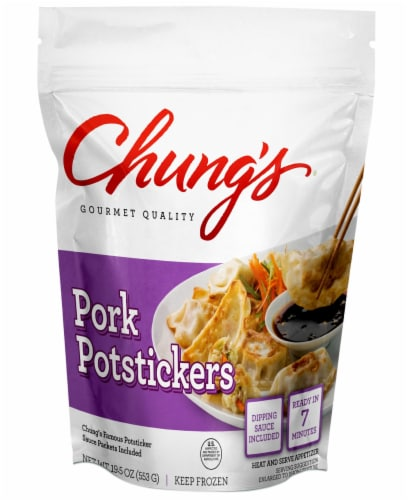 Chung's Pork Potstickers Perspective: front