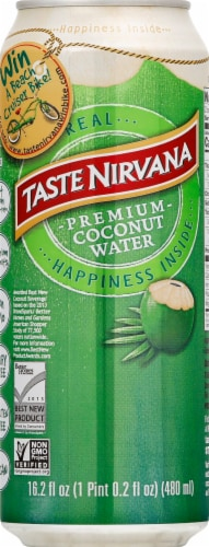 Taste Nirvana Real Coconut Water Perspective: front