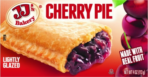 JJ's Bakery Cherry Pie Perspective: front