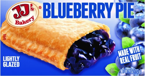 JJ's Bakery Blueberry Pie Perspective: front