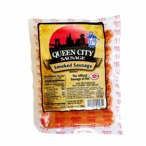 Queen City Sausage Smoked Sausage Perspective: front