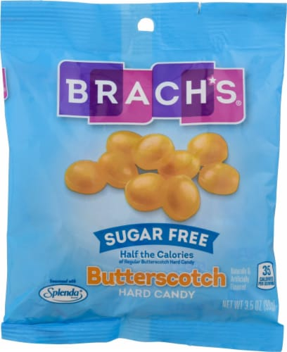 Brach's® Sugar Free Butterscotch Hard Candy Perspective: front