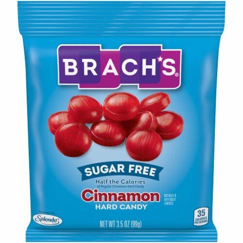 Brach's Sugar Free Cinnamon Hard Candy Perspective: front