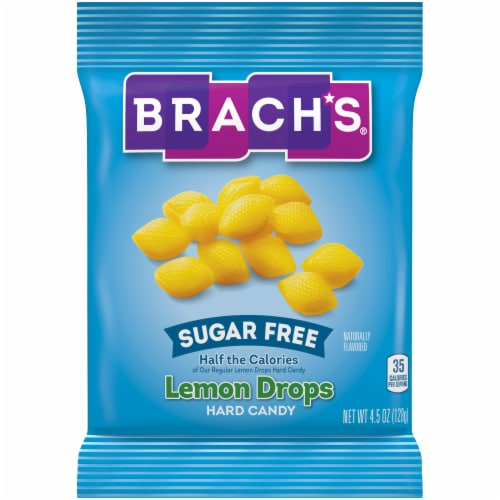 Brach's® Sugar Free Lemon Drops Hard Candy Perspective: front