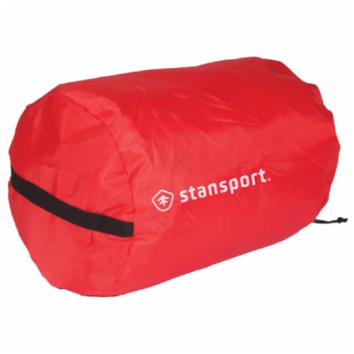 Stansport Nylon Stuff Bag - Red Perspective: front