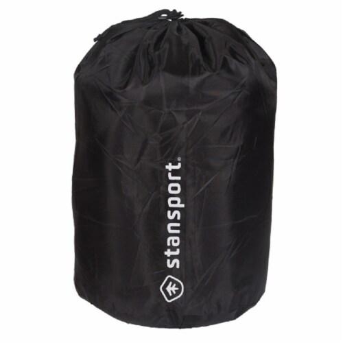Stansport Nylon Stuff Bag - Black Perspective: front