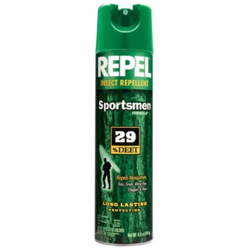 Repel Sportsmen Formula Aerosol Insect Repellent Perspective: front