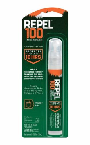 Repel 100 Pen-Size Insect Repellent Spray Perspective: front