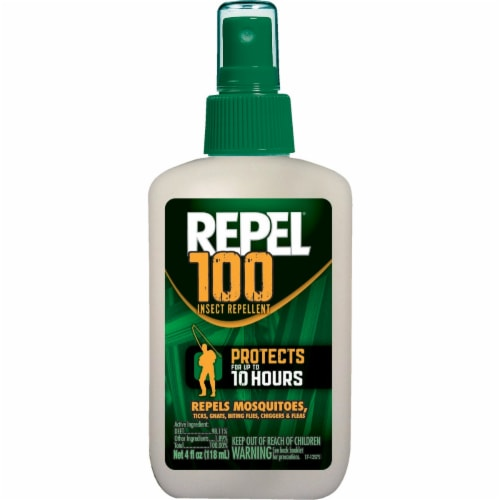 Repel 100 Insect Repellent Spray Perspective: front