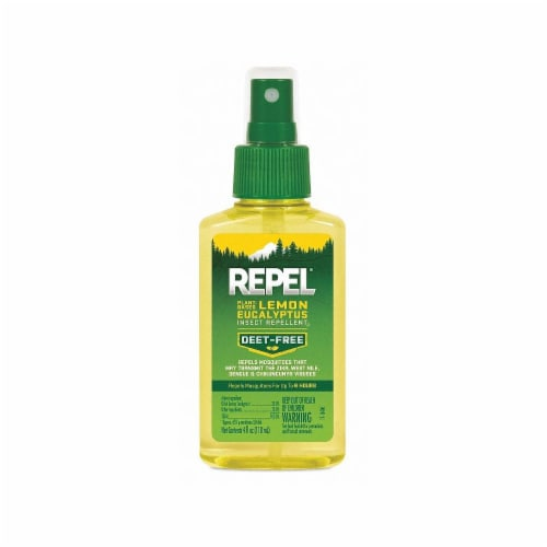 Repel Plant-Based Lemon Eucalyptus Pump Spray Insect Repellent Perspective: front