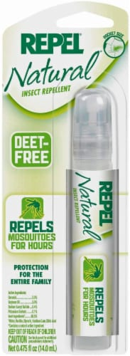 Repel® Natural Pen-Sized Pump Spray Insect Repellent Perspective: front