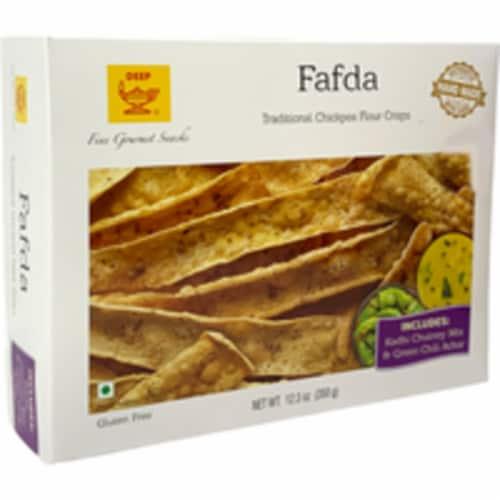 Deep Fafda with Papaya Chutney & Achar - 350 Gm Perspective: front