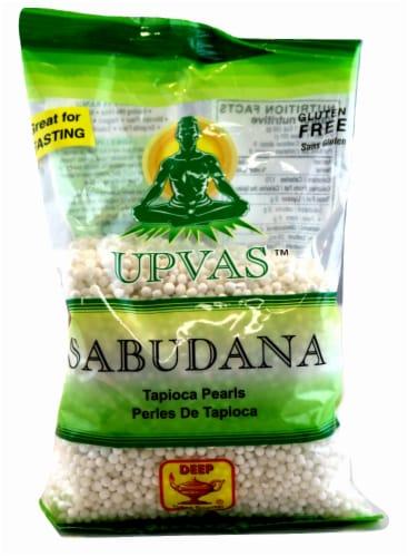 Deep Foods Upvas Sabudana Tapioca Pearls Perspective: front