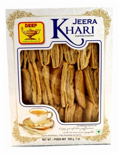 Deep Foods Jeera Khari Puffed Pastry Perspective: front