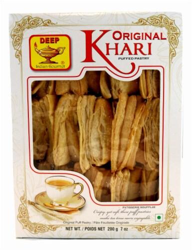 Deep Foods Original Khari Puffed Pastry Perspective: front