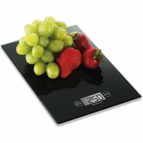 Maverick KS05 Kitchen Sleek Glass Top Digital Scale Perspective: front