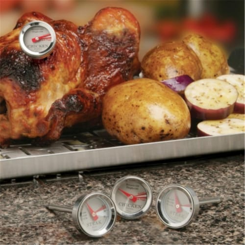 Maverick RT-04 Set of 4 Mini Steak And Chicken Thermometers Perspective: front