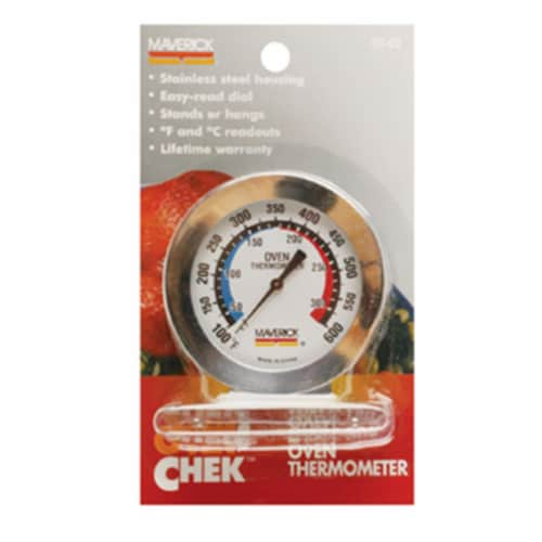 Maverick OT-02 Large Dial Oven Thermometer Perspective: front