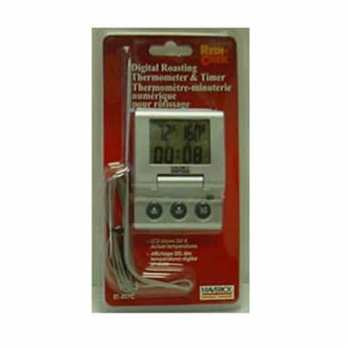 Maverick ET-807C Digital Roasting Thermometer and Timer Perspective: front