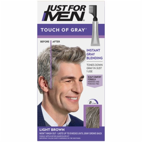Fred Meyer Just For Men Touch Of Grey Light Brown Hair Color