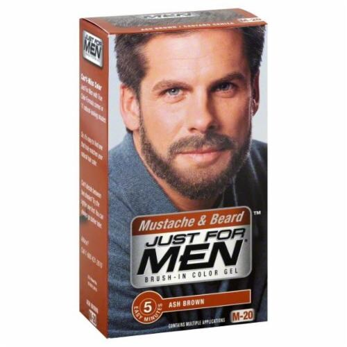 Kroger - Just for Men Mustache and Beard Brush in Color