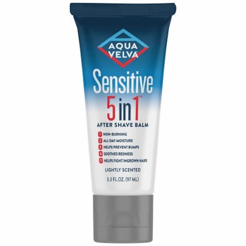 Aqua Velva Sensitive 5-in-1 After Shave Balm Perspective: front
