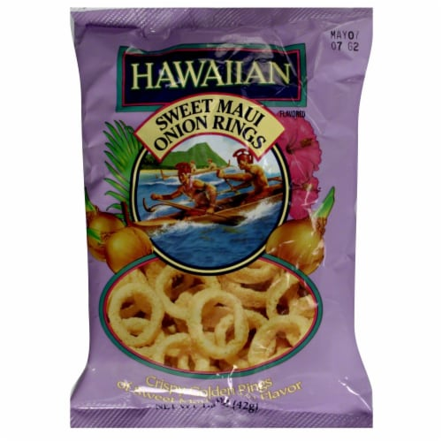 Hawaiian Sweet Maui Onion Rings Perspective: front