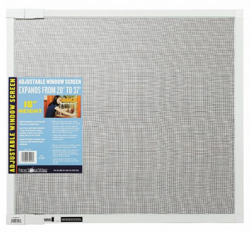Saint Gobain Adjustable Screen - White Perspective: front