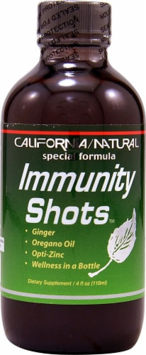 California Natural  Immunity Shots™ Perspective: front