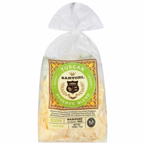 Sartori Tuscan Reserve Blend Cheese Bag Perspective: front