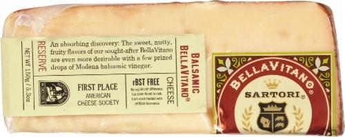 Sartori Balsamic BellaVitano Wedge Cheese Perspective: front