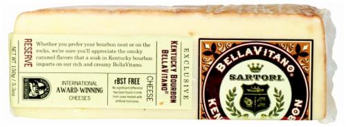 Sartori BellaVitano Kentucky Bourbon Cheese Perspective: front