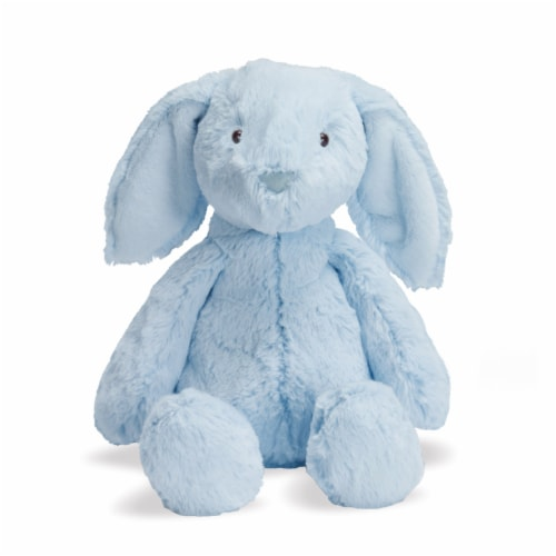 """Manhattan Toy Lovelies Blue Bailey Bunny 12"""" Plush Toy Perspective: front"""