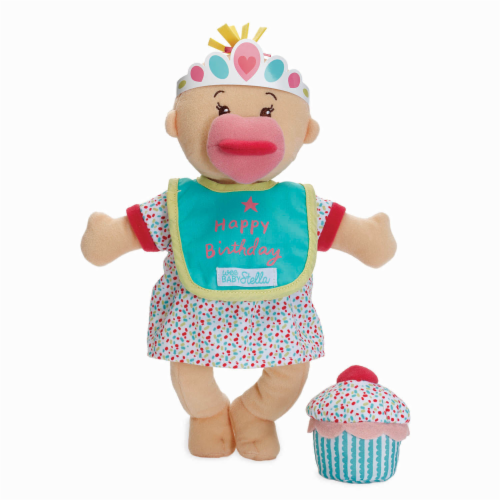 """Manhattan Toy Wee Baby Stella Sweet Scents 12"""" Soft Baby Doll and Birthday Set Perspective: front"""