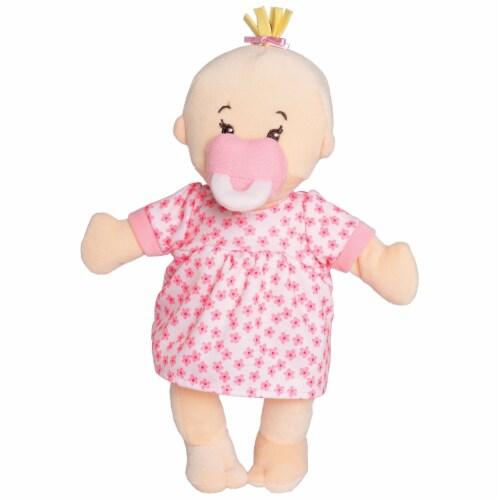 "Manhattan Toy Wee Baby Stella Peach 12"" Soft Baby Doll Perspective: front"