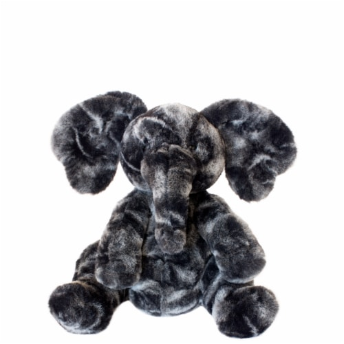 """Manhattan Toy Luxe Liam Stuffed Animal Elephant Plush Baby Toy, 9"""" Perspective: front"""