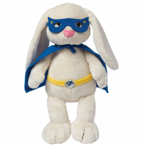 Manhattan Toy Superhero Bunny Plush Toy Perspective: front