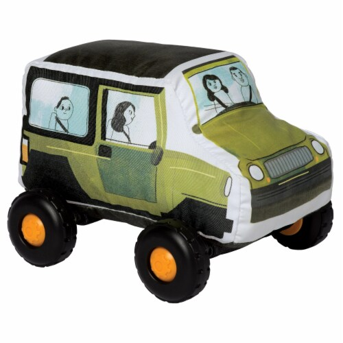 Manhattan Toy Bumpers SUV Toy Vehicle for Toddlers Perspective: front