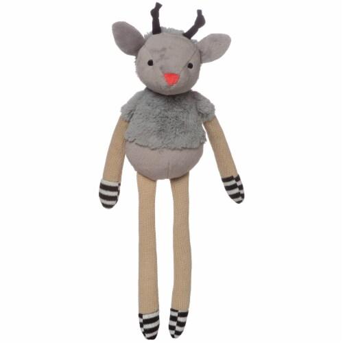 """Manhattan Toy Twiggies Sammy Stuffed Animal Deer, 16.5"""" Perspective: front"""